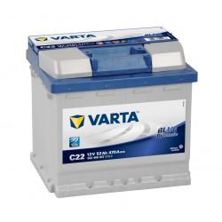 Baterie auto VARTA BLUE DYNAMIC C22 52Ah
