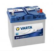 Baterie auto VARTA BLUE DYNAMIC D47 60Ah