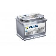 Baterie auto VARTA SILVER DYNAMIC AGM D52 60Ah