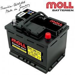 Baterie auto MOLL KAMINA START 555059042 55Ah
