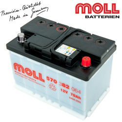 Baterie auto MOLL KAMINA START CLASSIC 110Ah 610042080