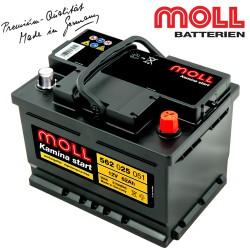 Baterie auto MOLL KAMINA START 562025051 62Ah