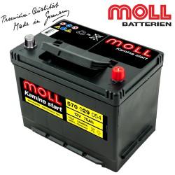 Baterie auto MOLL KAMINA START 570029054 70Ah