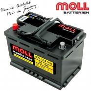 Baterie auto MOLL KAMINA START 574014068 74Ah