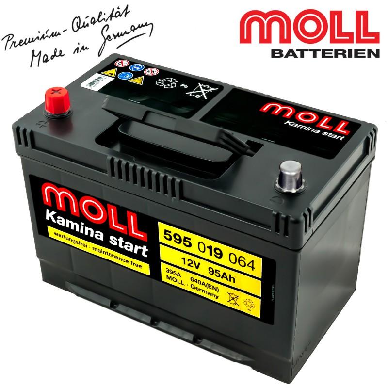 baterie auto moll kamina start 595019064 95ah importator. Black Bedroom Furniture Sets. Home Design Ideas