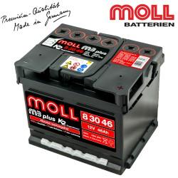 Baterie auto MOLL M3 PLUS K2 83046 46Ah