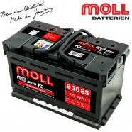 Baterie auto MOLL M3 PLUS K2 83085 85Ah