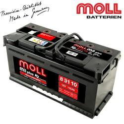 Baterie auto MOLL M3 PLUS K2 83110 110Ah