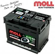 Baterie auto MOLL START-STOP 82060 EFB 60Ah