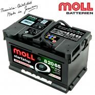 Baterie auto MOLL START-STOP 82065 EFB 65Ah