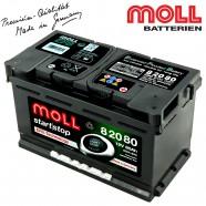 Baterie auto MOLL START-STOP EFB 82080 80Ah