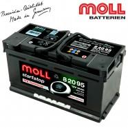Baterie auto MOLL START-STOP EFB 82095 95Ah