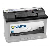 Baterie auto VARTA BLACK DYNAMIC E9 70Ah